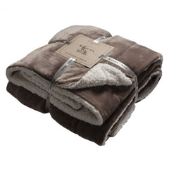 Kilburn Scott Luxurious Throw Taupe