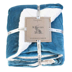 Kilburn Scott Luxurious Throw Teal