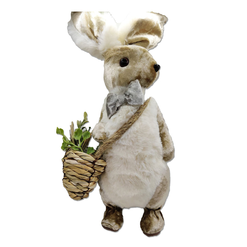 Standing Rabbit with Easter Basket