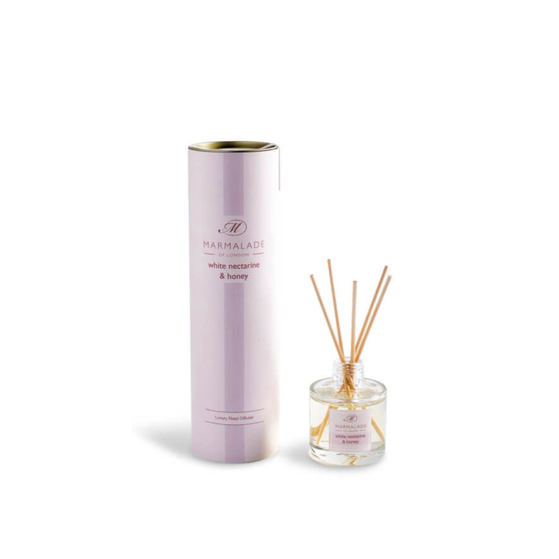 Marmalade White Nectarine & Honey Travel Reed Diffuser