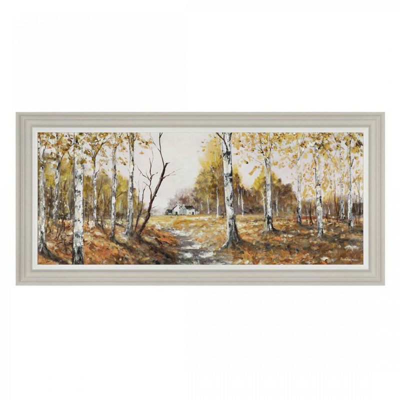 Woodland Walk Framed Picture (Collection Only)