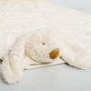 Bunny Blankie in Organza Bag: White