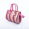 Kids Basket: Purple & Pink Striped