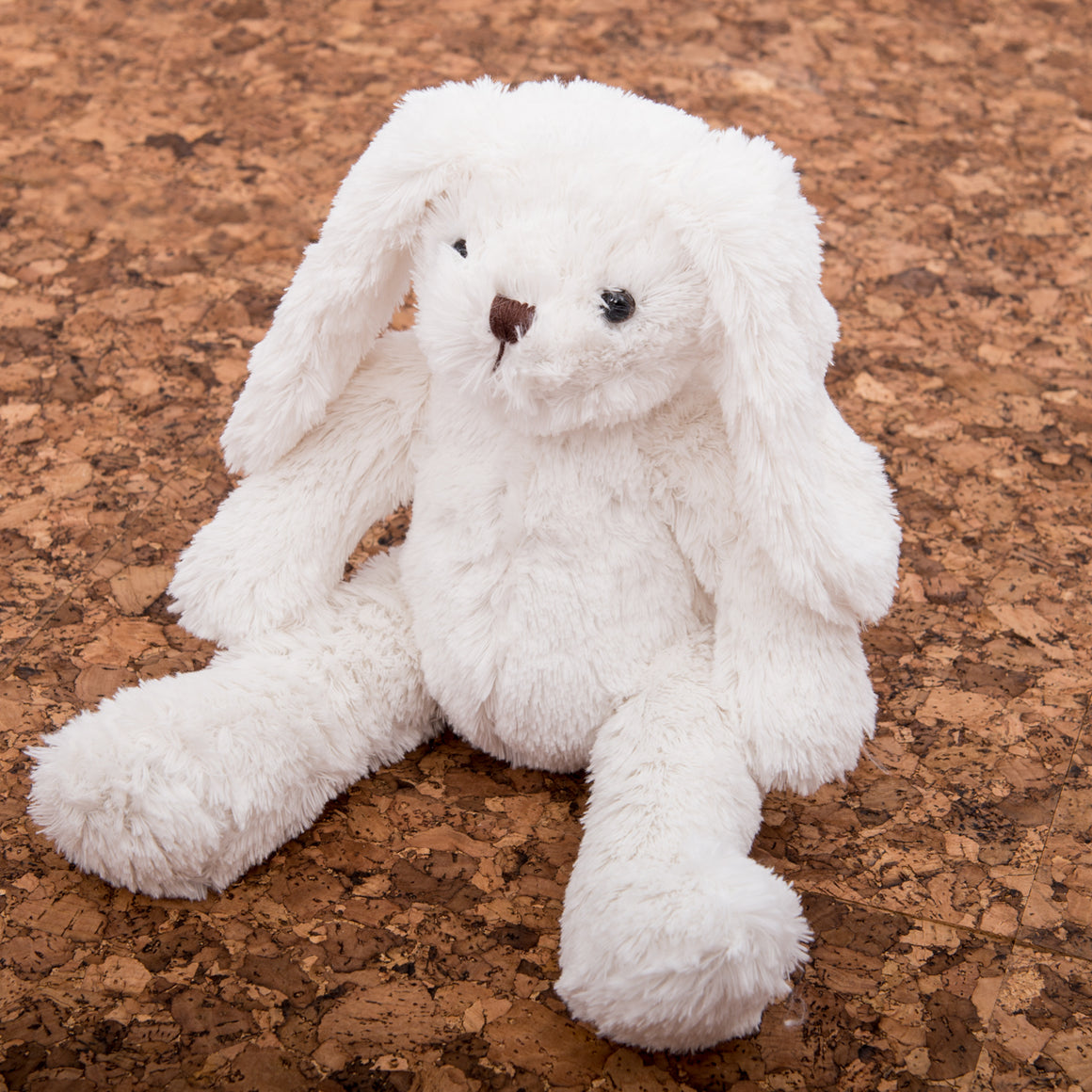 Plush White Bunny