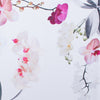 Orchids Tablecloth: White