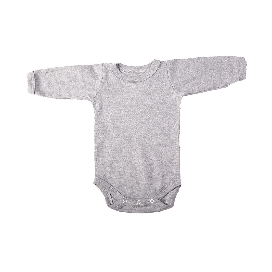 Crew Neck Onesie - Grey