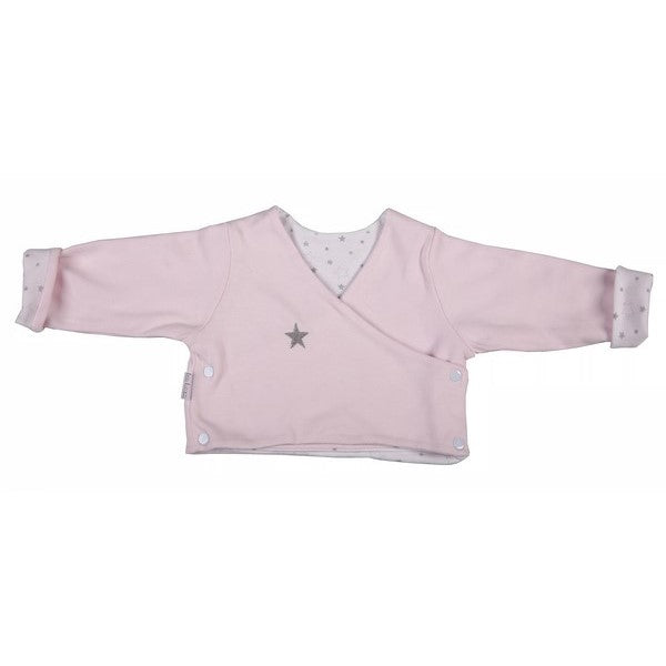 Crossover Jacket (Reversible) - Pink