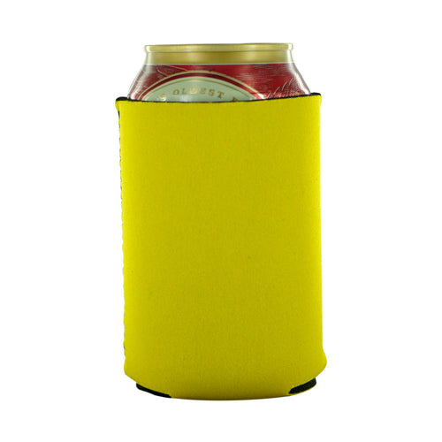 Yellow Blank koozies 12oz neoprene