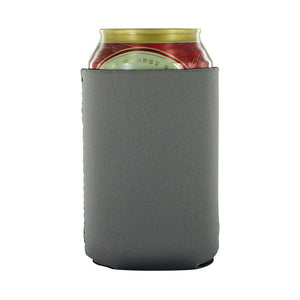 Charcoal Blank can koozies neoprene