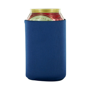 navy Koozie Blank can