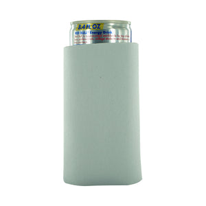white blank koozie 8oz Slim Can