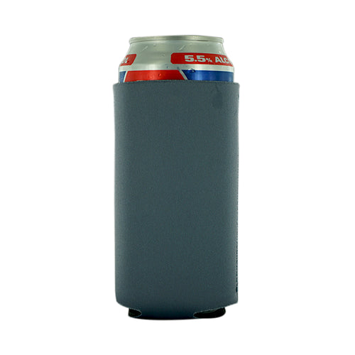 charcoal 16oz Neoprene Tall Can koozie