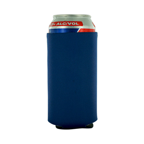 navy koozie Neoprene 16oz Tall Can