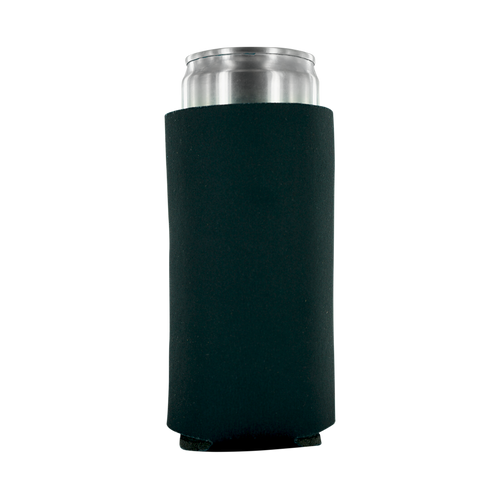 black 12oz Tall Slim Can blank