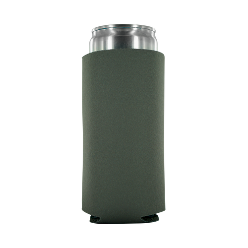 Grey Koozie 12oz Tall Slim Can foam