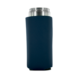 Navy 12oz Tall Slim Can foam