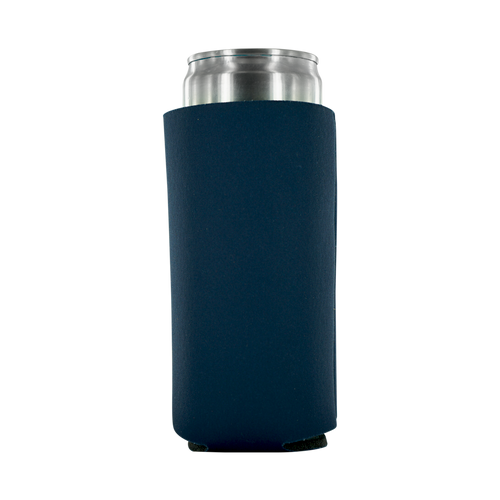 navy koozie 8oz Slim Can blank