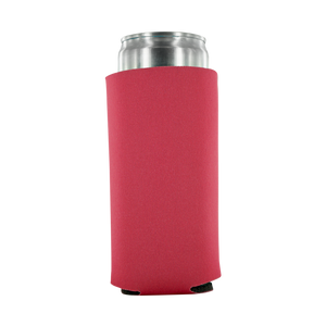 pink koozie 8oz Slim Can blank
