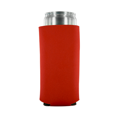 red 12oz Tall Slim Can
