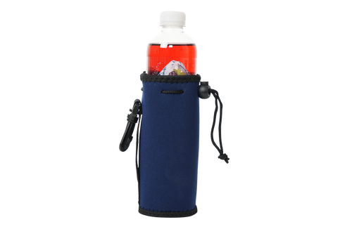 Navy  Water Bottle koozie