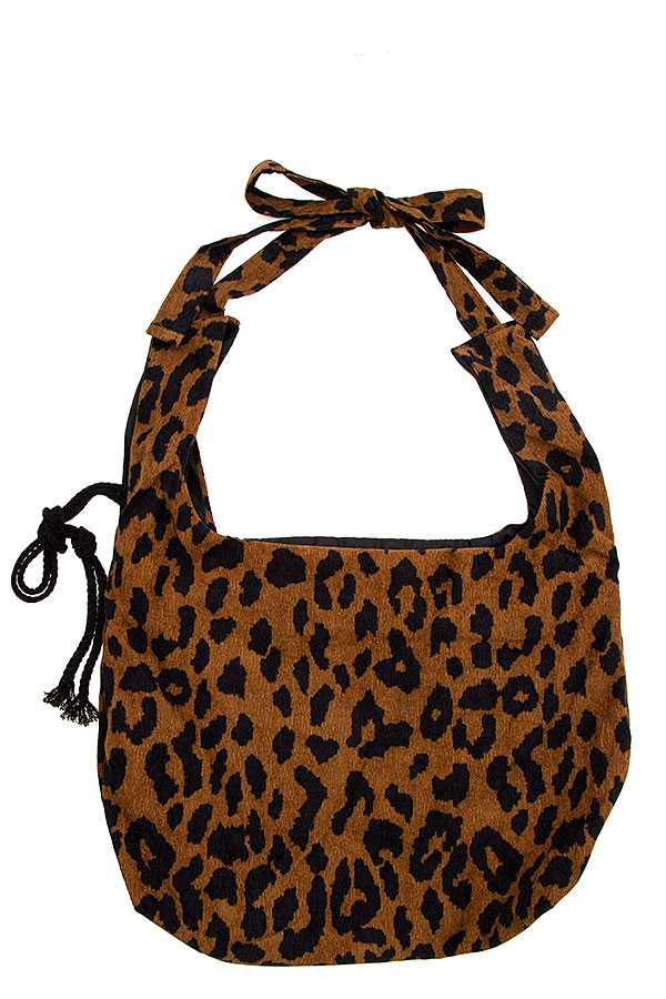 Animal Print Convertible Bag