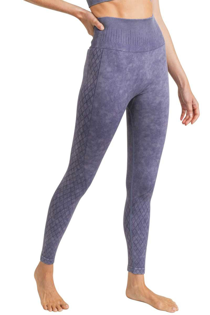 Lavender Acid Wash Legging