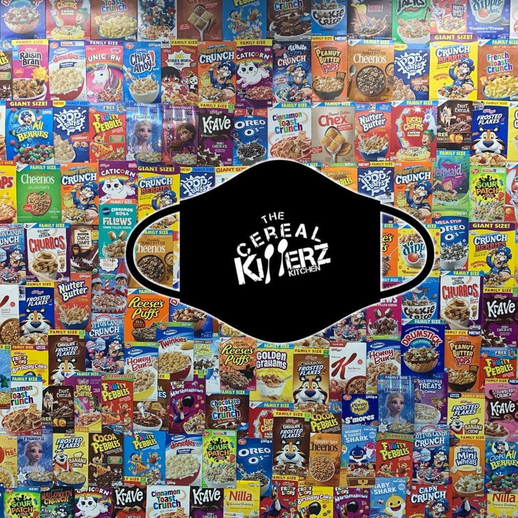 Cereal Killerz Logo Mask