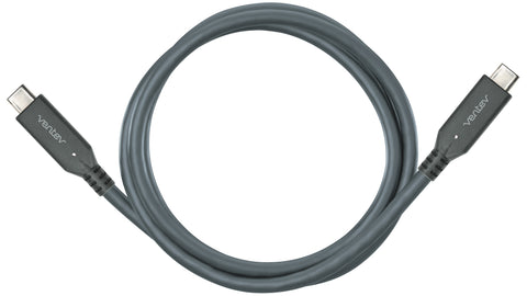 Ventev Chargesync Type C - C 3.1 Cable-Gray 3.3ft