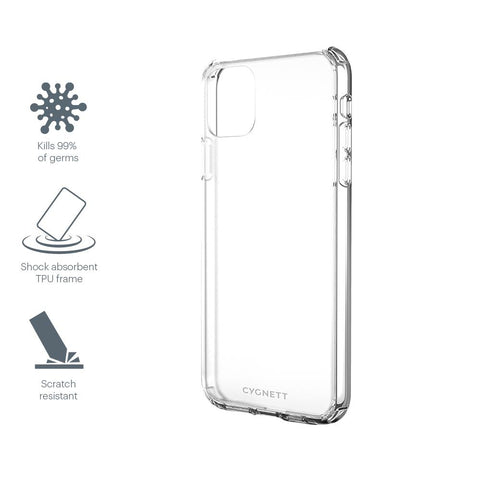 CYGNETT AeroShield Case for iPhone 12 Mini - Crystal