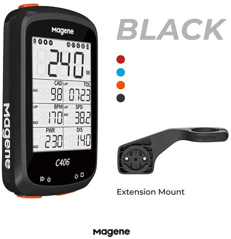 MAGENE C406 BIKE COMPUTER (BLACK)