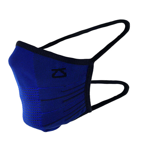 ZENSAH PERFORMANCE FACE MASK - BLUE