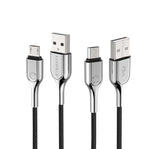CYGNETT ARMOURED MICRO USB TO USB-A CABLE