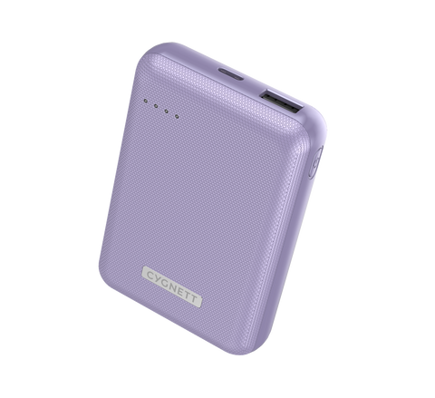 CYGNETT CHARGEUP RESERVE 10,000 MAH 18W POWER BANK - LILAC