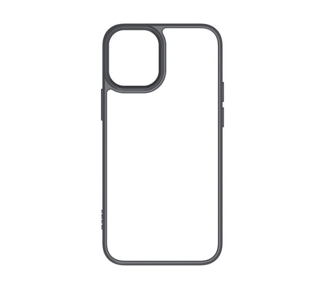 QDOS HYBRID iPhone 12 Mini Case - Space Grey