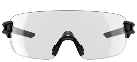 SALICE 021 BLACK/CLEAR PROTECTIVE GLASSES