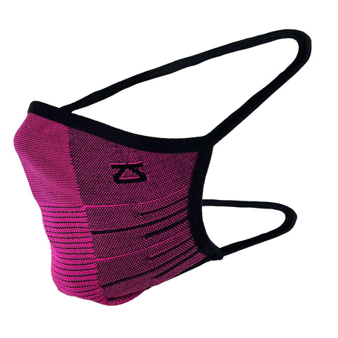ZENSAH PERFORMANCE FACE MASK - MAGENTA