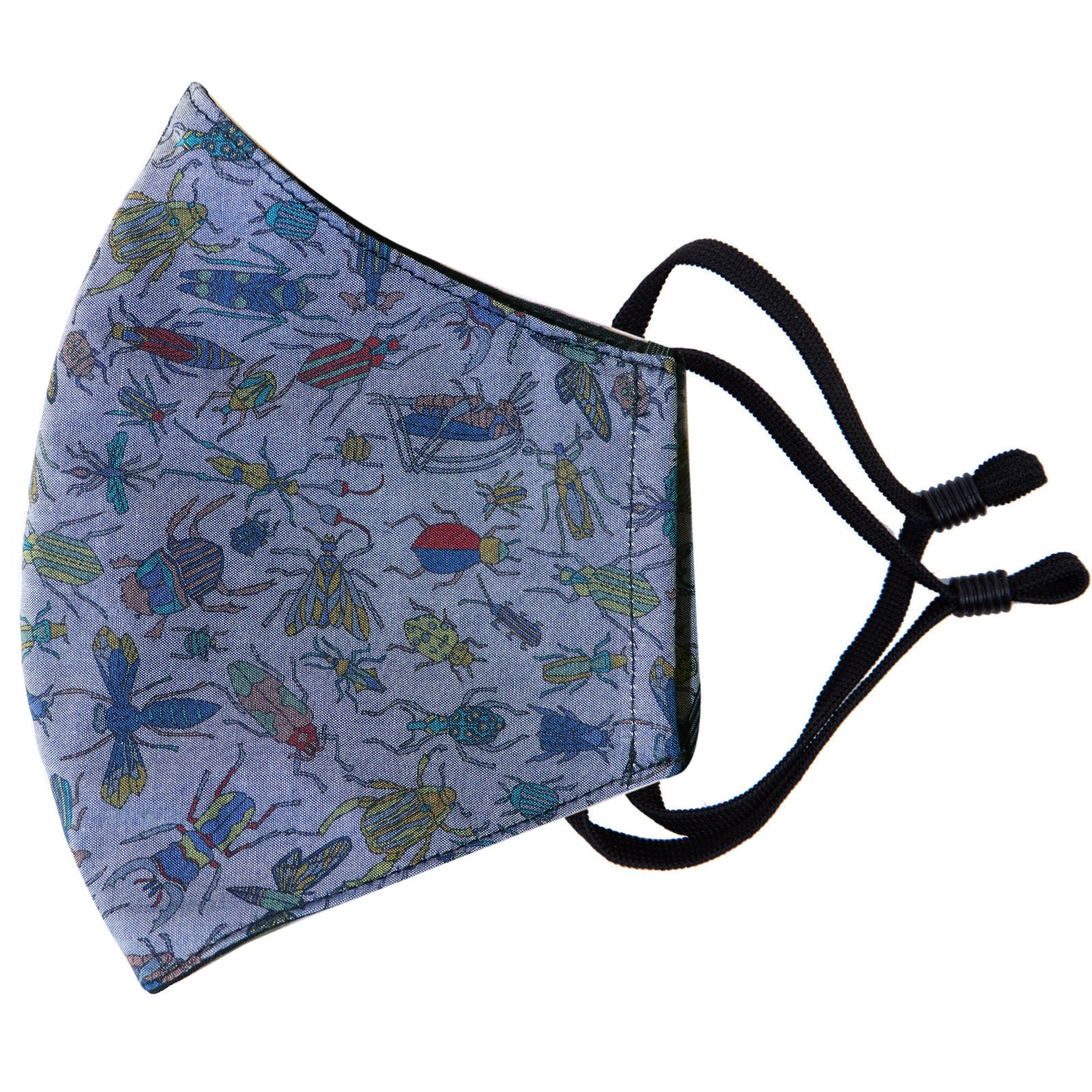Parisian with Liberty Face Mask - Chambray Bug Catcher