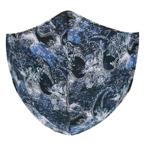 Best cool face mask made in NZ by Parisian with Liberty cotton and fine merino with adjustable toggles for extra comfort