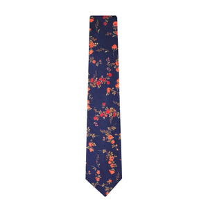 Liberty cotton classic floral tie made in New Zealand by Parisian in Elizabeth Design