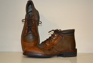 Mens genuine handmade custom leather boots from Als Safari