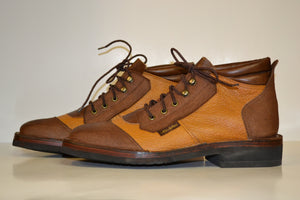 Men's Water Buffalo Safaris with Eland Accents - Genuine Leather Boots by Al's Safaris