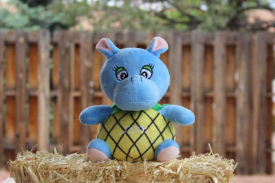 Joy: The Pineapple Hippo Plush