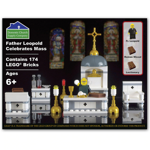 Celebrate Mass LEGO Set