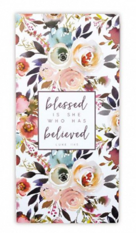 Blessed is She Who Has Believed Stationery Set