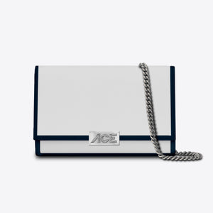 Shoulder Bag N°8 White Gold