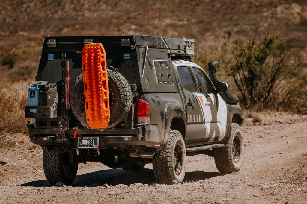 Toyota Tacoma with off-road bumper