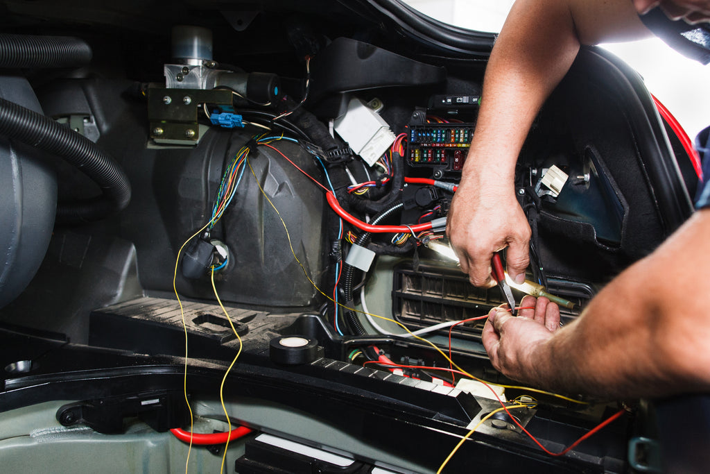 Wiring off-road lights