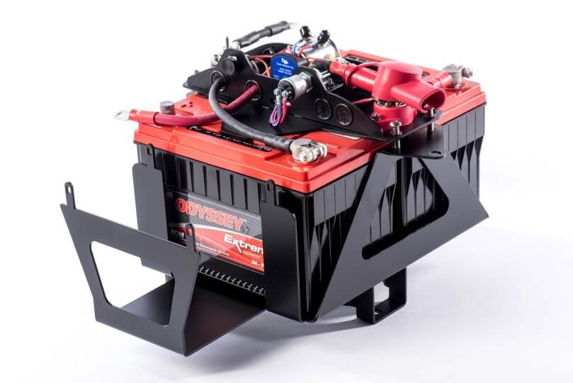 Genesis Offroad Battery Kits | Dual Battery Tray Kit | Jeep Wrangler JK