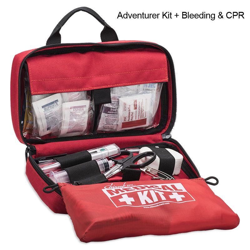 Chinook Medical Adventure Kit - w/ Bleed & CPR