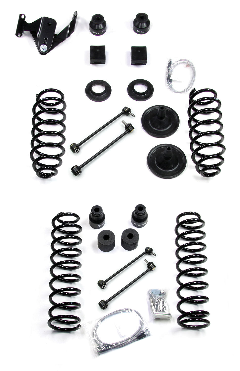 "Teraflex JK 2dr: 4"" Coil Spring Base Lift Kit – No Shocks"